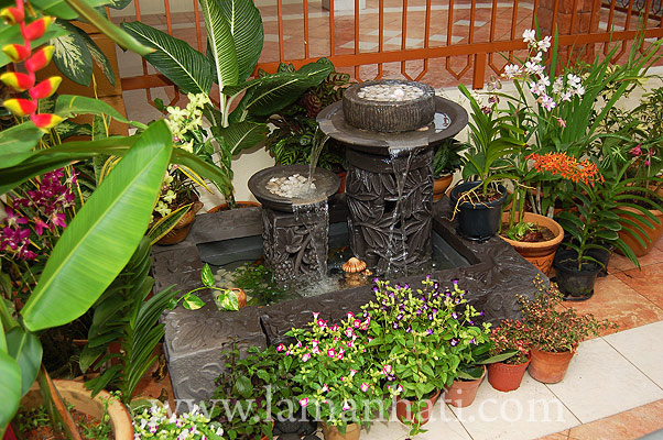 Water Fountain To Make In Your Garden | Modern Furniture Design Blog